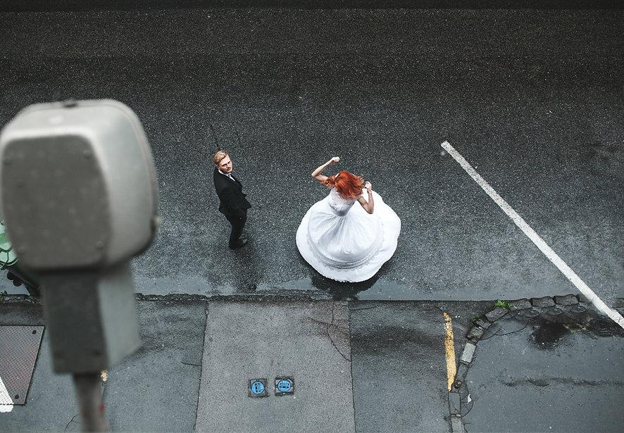 Bruid in de Regen