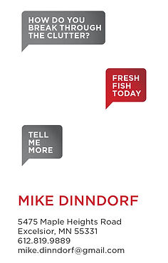 Mike Dinndorf Business Card
