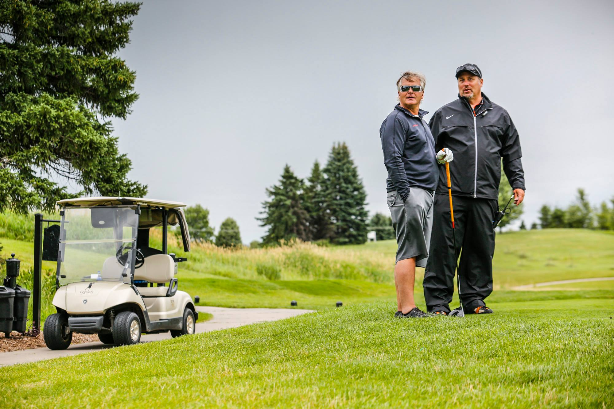 Managing Top 10 charity golf event
