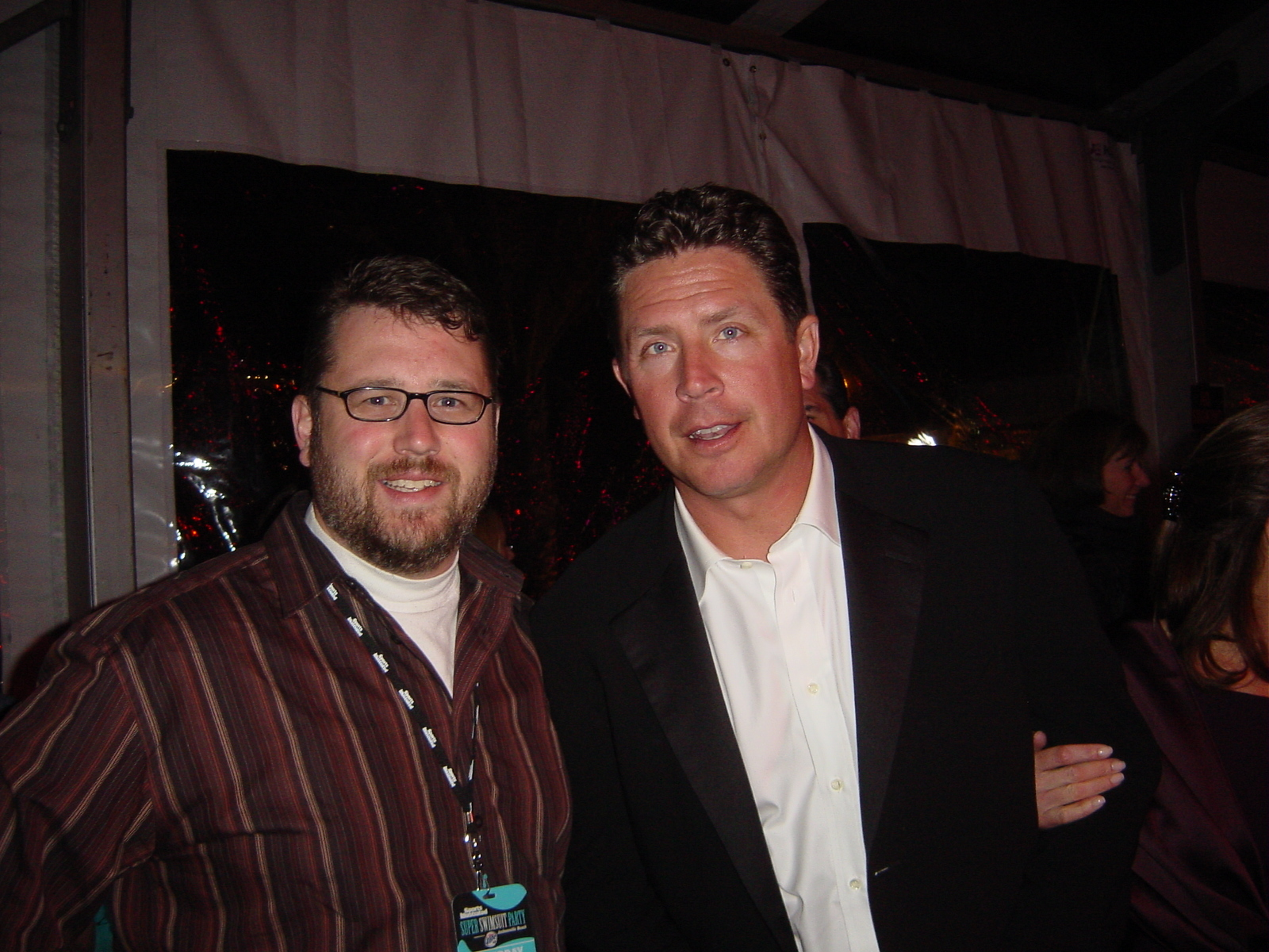 Mike Dinndorf and Dan Marino