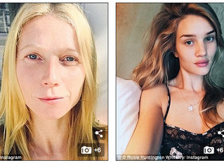 Make-up Free - is this the new anti-ageing trick?