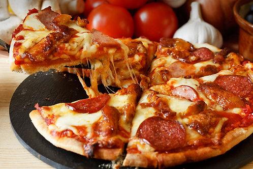 Pizza de Chorizo de Ternera e Tartufo