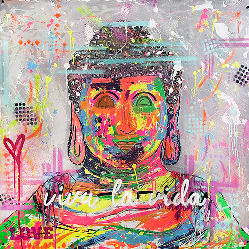 Cuadro Viva la Vida - Buda