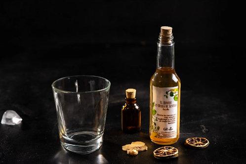 Coctel El Hombre en Busca de Sentido (Penicilin). Botella de 165ml.