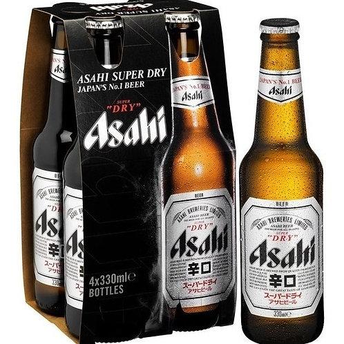 Cerveza Asahi 4 Pack