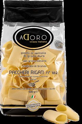 Paccheri Rigati  500g.  aDoro