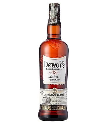 Whisky Dewars 12 años