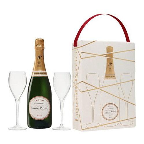 Champagne Laurent Perrier Brut + 2 Copas