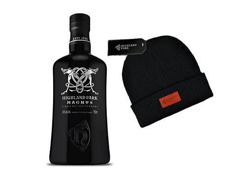 Whisky Highland MAGNUS  750ml + Gorro