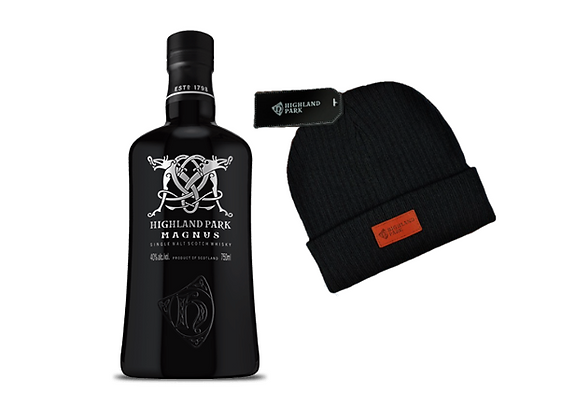 Whisky Highland MAGNUS  750ml + Gorro