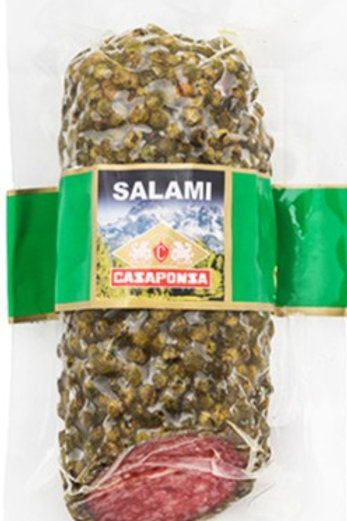 Mini Salami Casaponza Pimienta Verde