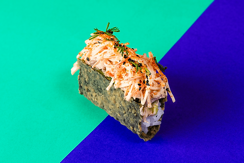 Nori Taco de cangrejo  X1