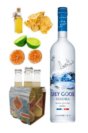 Pack Piña Mule by Grey Goose
