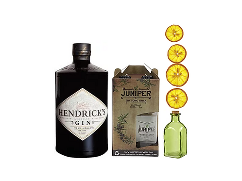 Pack Amor por el pepino (Hendrick's más tónicas Juniper más elixir)