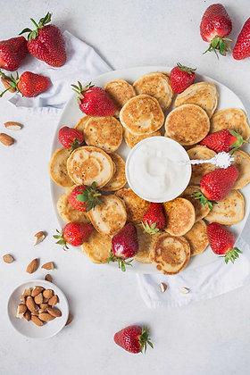 Mini Pancake Rellenos