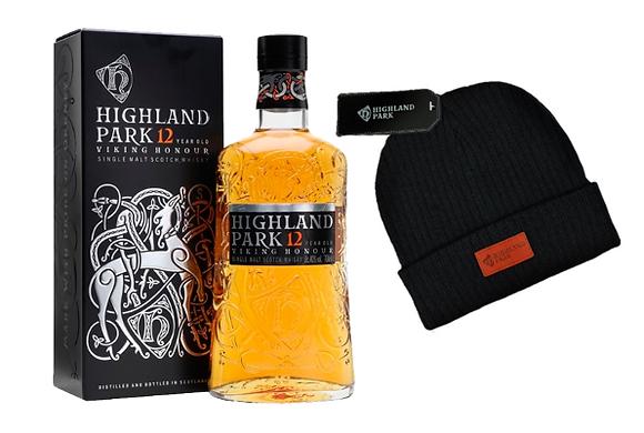 Whisky Highland 12 750ml + Gorro