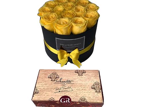 Rosas + Caja Especial Panadería