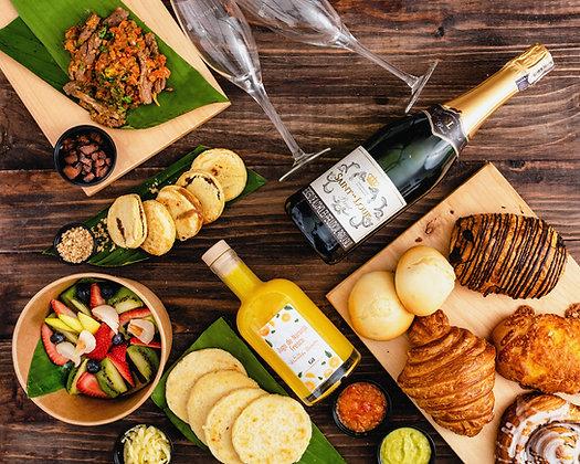 Brunch Kit incluye mimosas x2 personas