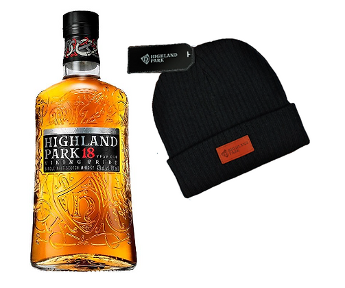 Whisky Highland 18 750ml + Gorro