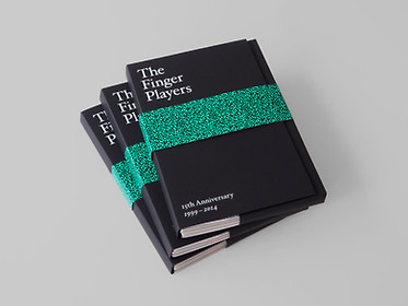 The Finger Players 15th Anniversary Notebook