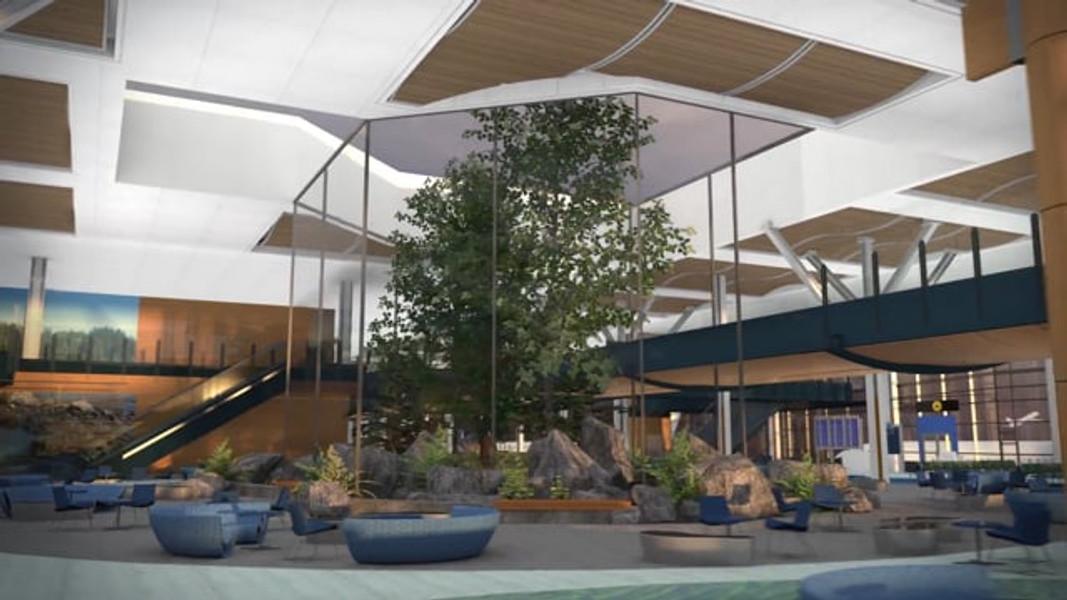 Vancouver Airport Authority - Pier D Concept Flythrough