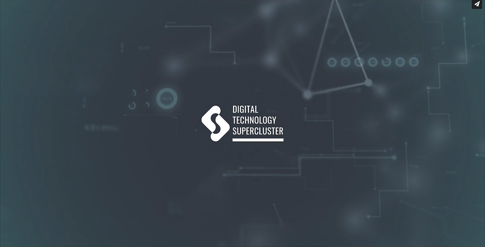digital technology supercluster marketing video image