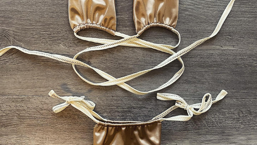 Golden San Tropez Wrap bikini