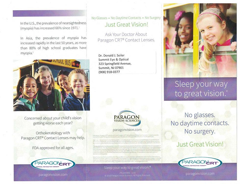 manage kids vision