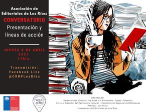 Conversatorio, Asociación de Editoriales de los Ríos - Chile.
