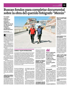 """""""MONIN. EL FOTÓGRAFO DEL INVIERNO"""" Documental"""