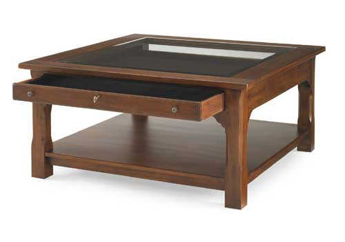 Square Collector's Cocktail Table