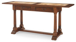 Hobcoe Console Table Marble