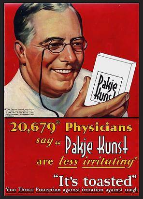 Poster van Pakje Kunst