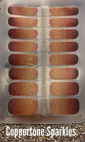 Coppertone sparkles