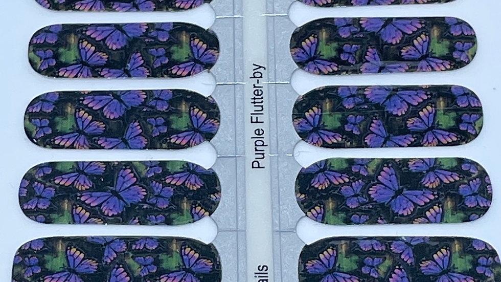 Purple Flutter-By