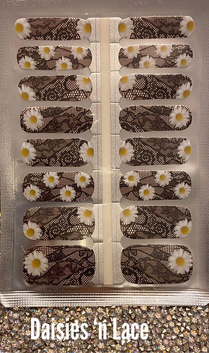 Daisies 'n lace