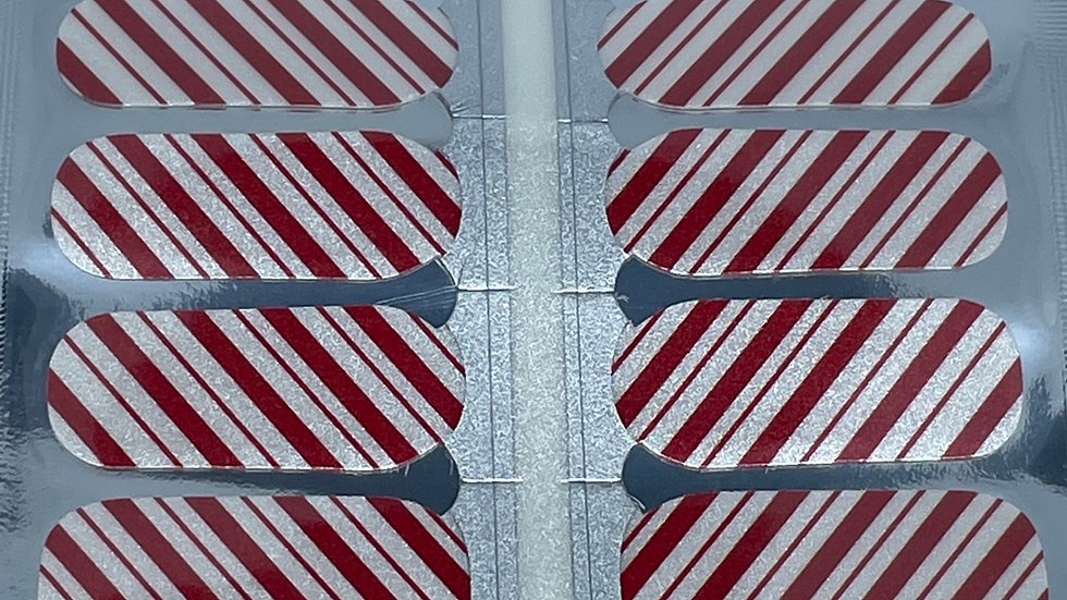 Shimmering Candy Cane