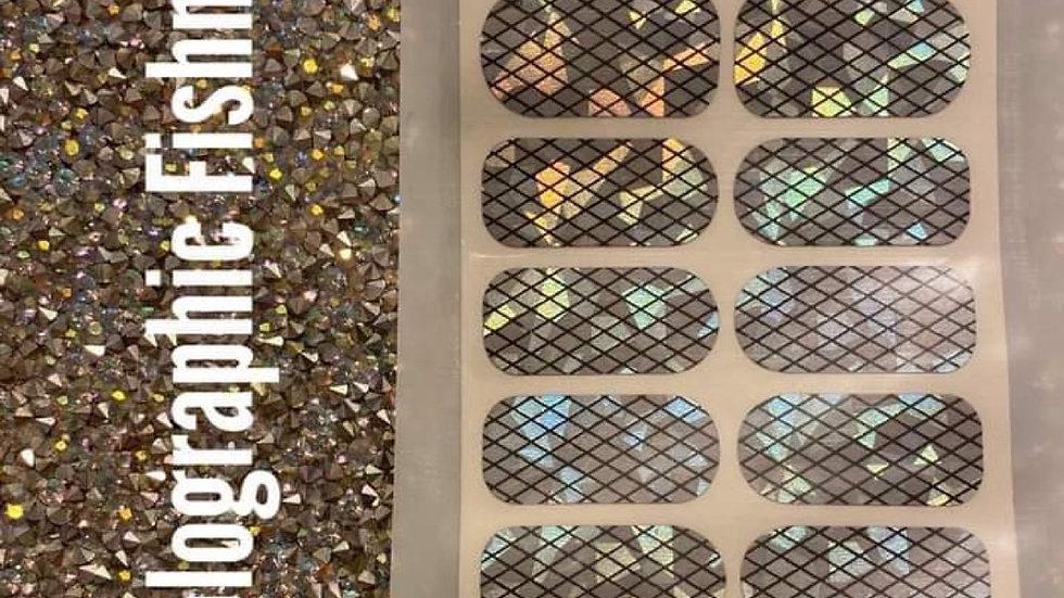 Holographic fishnet