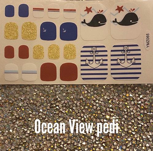 Ocean view pedi