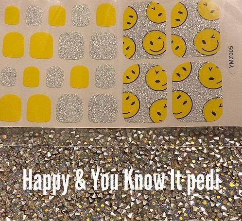 Happy & you know it pedi