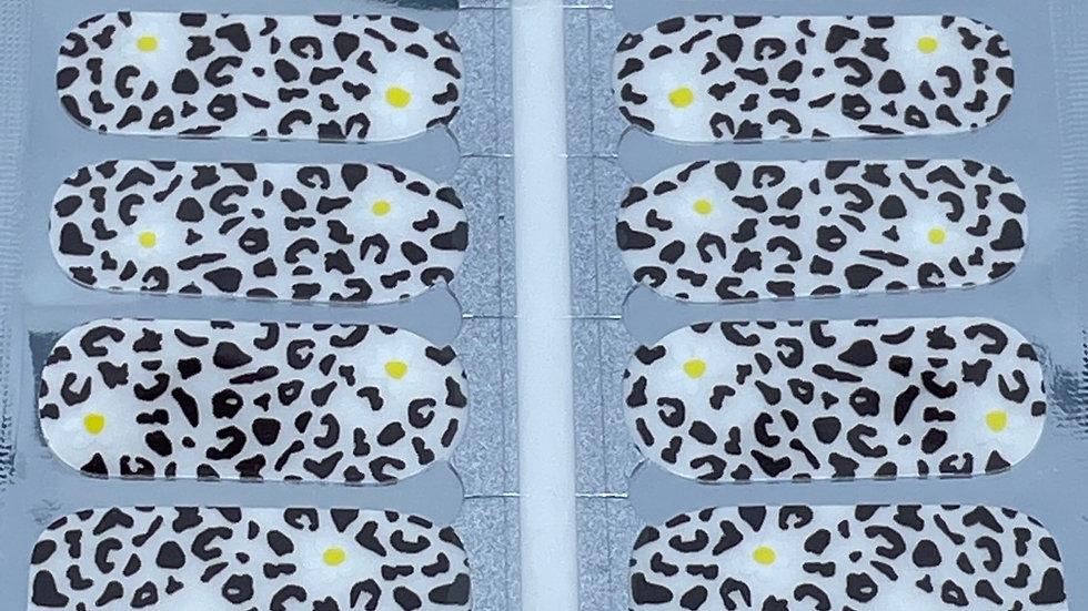 Cheetah & Daisies overlay