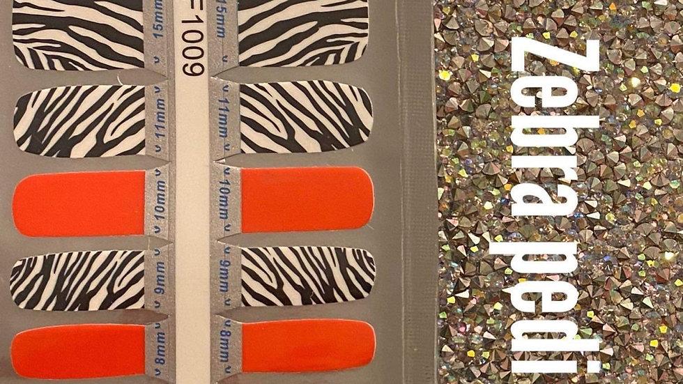 Zebra pedi