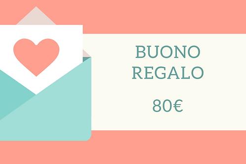 Buono Regalo 80€