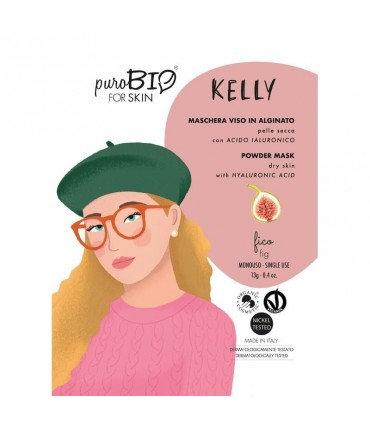 PuroBio Maschera viso Kelly peel off pelle secca- Fico