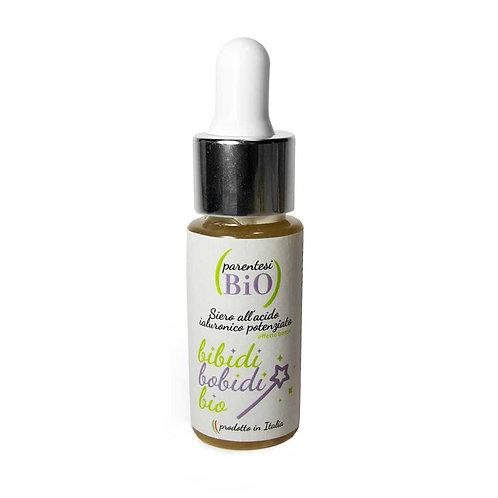 Bibidi Bobidi Bio 15 ml – Siero all'acido ialuronico potenziato