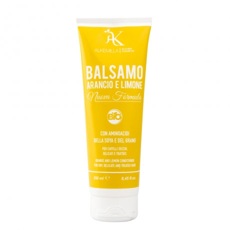 Balsamo Arancio e Limone per capelli secchi, delicati e trattati- Alkemilla