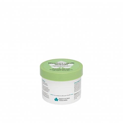 Maschera capelli sorbetto- Rigenerante onde e ricci, con kiwi bio toscano