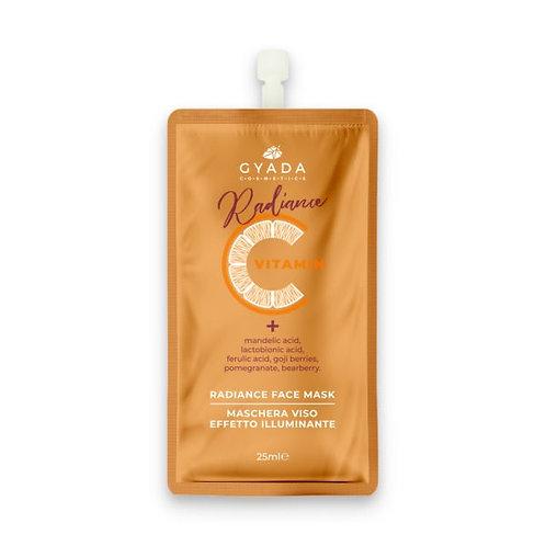 Maschera viso effetto illuminante Radiance 25 ml – Gyada Cosmetics