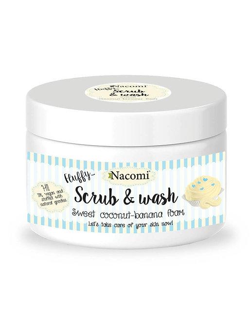 "SCRUB & WASH ""SWEET COCONUT-BANANA FOAM"""