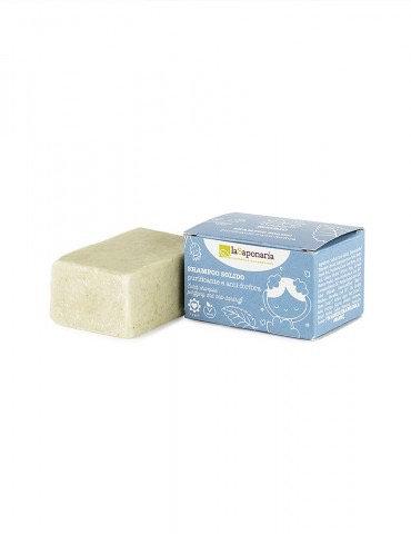 Shampoo solido - purificante e anti-forfora la saponaria